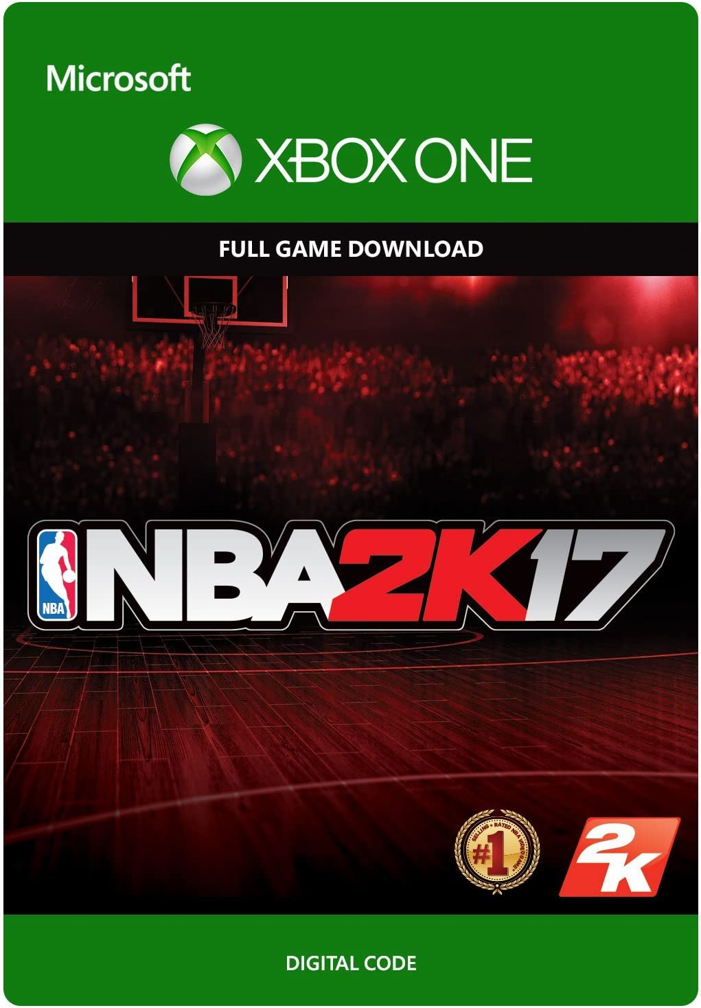 Amazon com: NBA 2K17 - Xbox One [Digital Code]: Video Games
