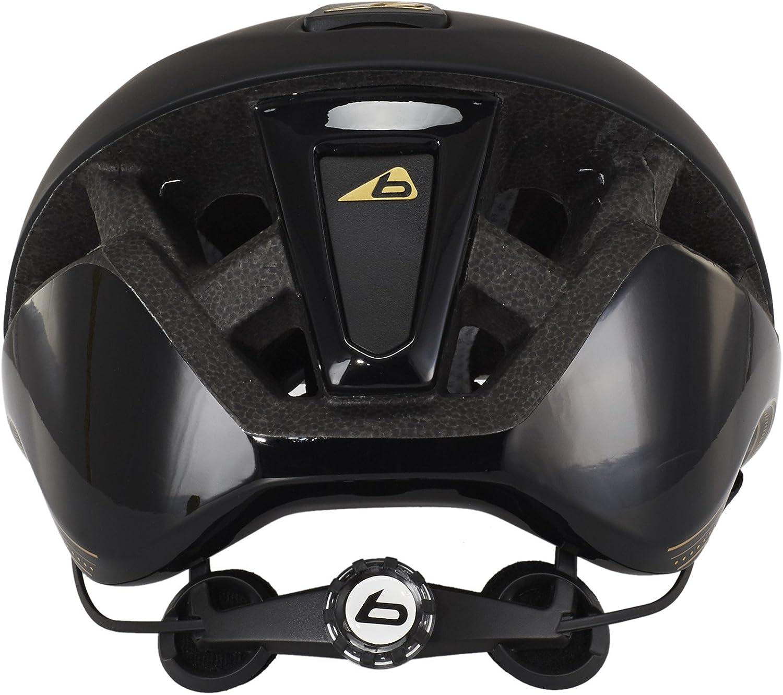 Bolle Messenger Premium 2017 Mountainbike Helmet Downhill Helmet Black Gold Black 58 62 Cm Sport Freizeit