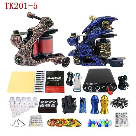 IHIGGG TK201-2 - Máquina de Tatuaje en Espiral Doble para Niebla ...