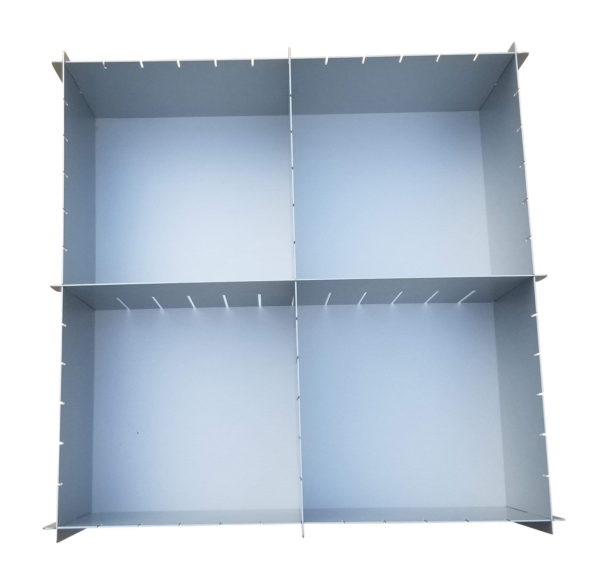 12'' x 4'' Deep Multisize Cake Pan With Extra Set Of Dividers - 4 Dividers Total - By H&L DesignWare by H&L DesignWare (Image #6)