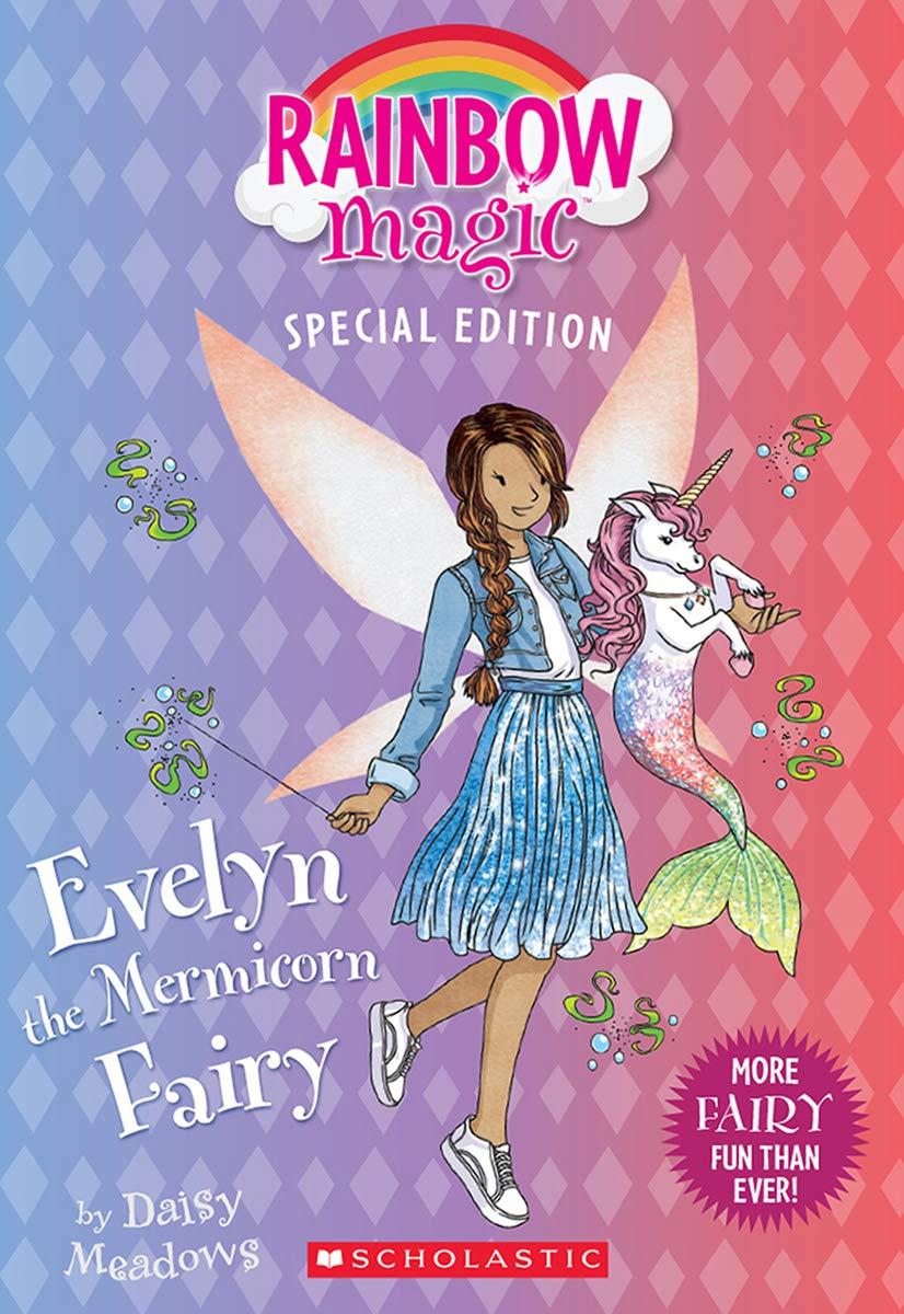 Evelyn The Mermicorn Fairy Rainbow Magic Special Edition Amazon Ca Meadows Daisy Books