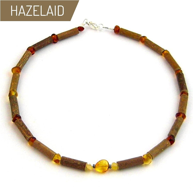 Hazelaid (TM) Child Hazelwood-Amber Necklace - 13.5 Honey