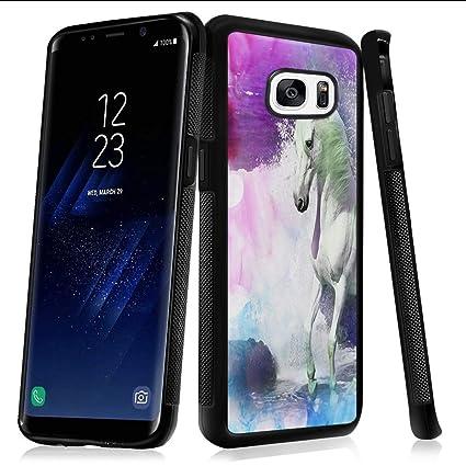 Amazon.com: HRiDT - Carcasa de silicona suave para Samsung ...