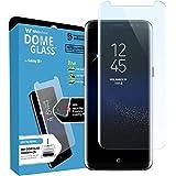 Dome Glass, Vetro Temperato Galaxy S8+ , Custodia Compatibile, Whitestone Copertura Completa 3D Schermo Edge [Tecnologia Liquid Dispersion] per Samsung Galaxy S8 Plus - Solo Sostituzione