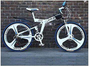 Bicicleta de Montaña 21 Velocidades Unisex Doble Suspensión ...