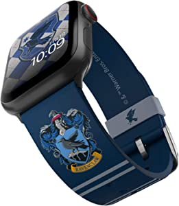 Harry Potter - Ravenclaw Smartwatch Band – Officially Licensed, Compatible with Apple Watch (not Included) – Fits 38mm, 40mm, 42mm and 44mm