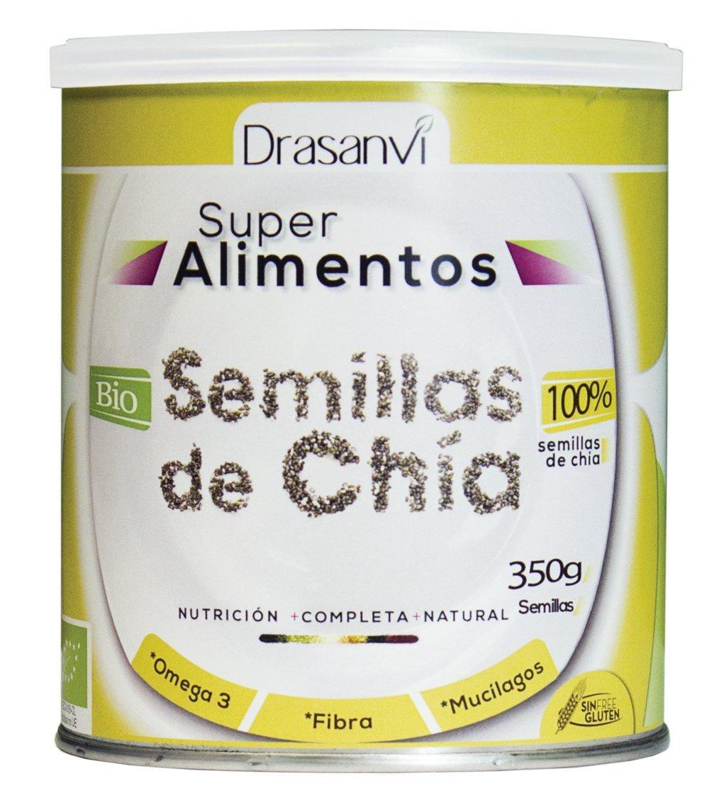 Drasanvi Semillas Chía Bio 350 gr: Amazon.es: Hogar