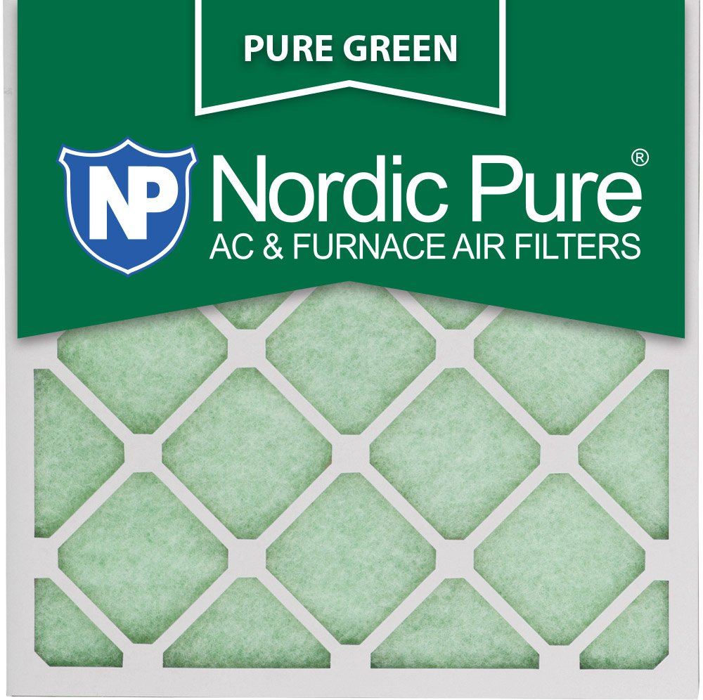 Nordic Pure 16x16x1PureGreen-12 AC Furnace Air Filters, 12-Piece by Nordic Pure B00KA3GLQ4
