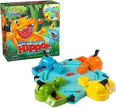 LUXJET Hungry Hippos Juegos de Mesa Juguetes Interactivo Divertido Juego de Mesa Juguete Educativo para Niños Regalo Infantil: Amazon.es: Juguetes y juegos