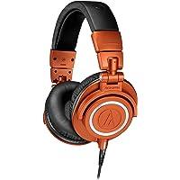 Audio-Technica ATH-M50XMO - Auriculares para Monitor Profesional, Color Naranja metálico