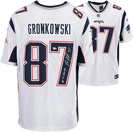 pretty nice 60b19 4f7ac Rob Gronkowski New England Patriots Super Bowl LIII ...