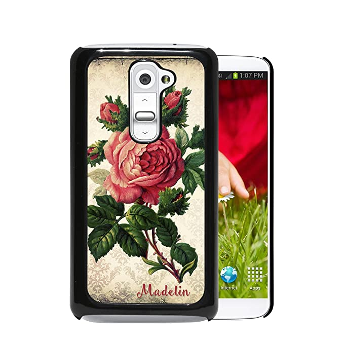 Amazon com: Vintage Style Damask Flowers with Red Roses in Center