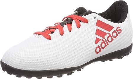 ADIDAS X Tango 17.4 TF Jr Cp9044, Botas de fútbol Unisex niño, Gris (Gris/Correa/Negbas 000), 36 EU