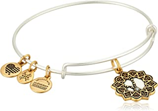 product image for Alex and Ani Women's Pisces Two Tone Bangle Bracelet