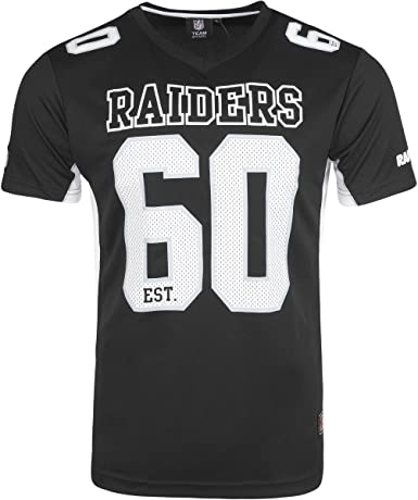 Majestic NFL OAKLAND RAIDERS Moro Mesh Jersey T-Shirt