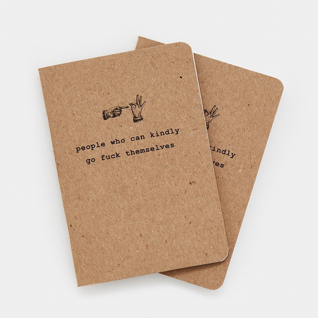 2-pack People Who Can Kindly Notebooks
