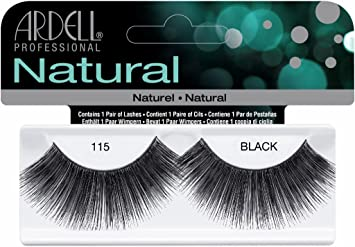 35cd61b8a1c Amazon.com : Ardell Fashion Lashes False Eyelashes - #115 Black ...