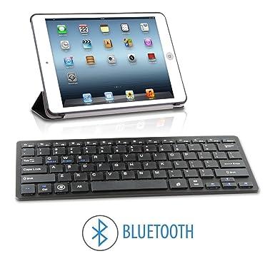 Teclado con Bluetooth 3.0 Universal Compatible con Android iOS iPad Tablet Samung Huawei BQ Xiaomi LG