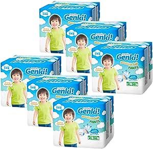 Nepia Genki Premium Soft Pants XL26, XL, 156 count (Pack of 6)