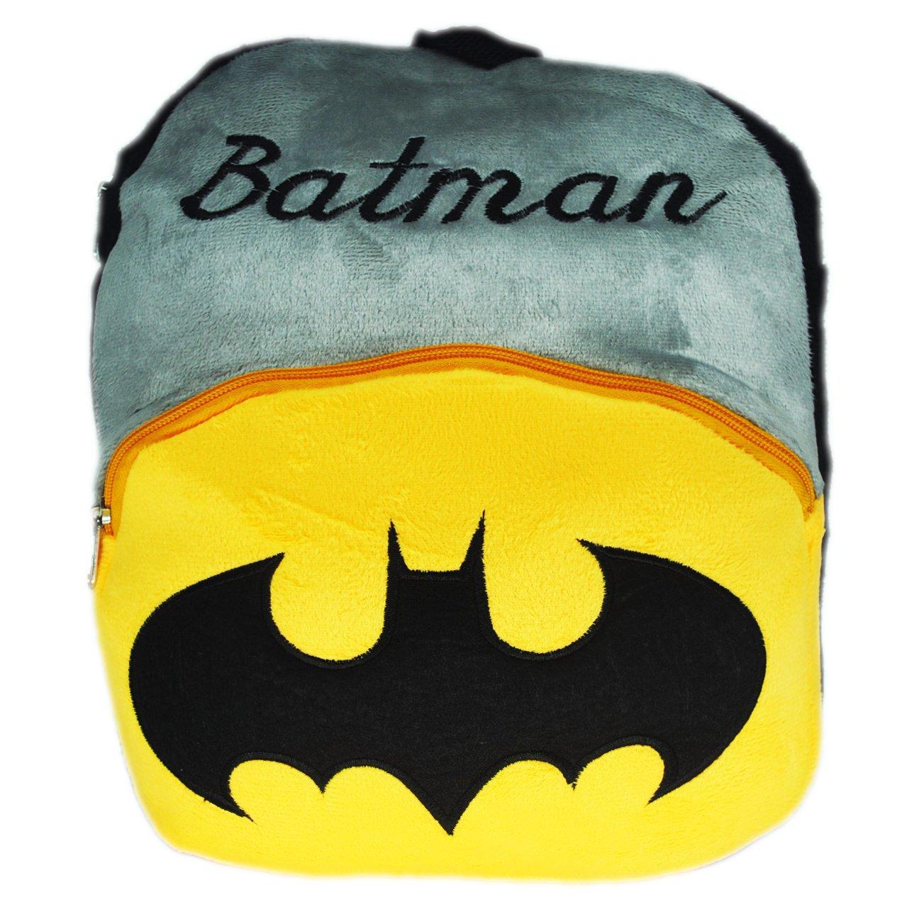 Batman Kids School Bag Soft Plush Backpack  Amazon.in  Clothing    Accessories