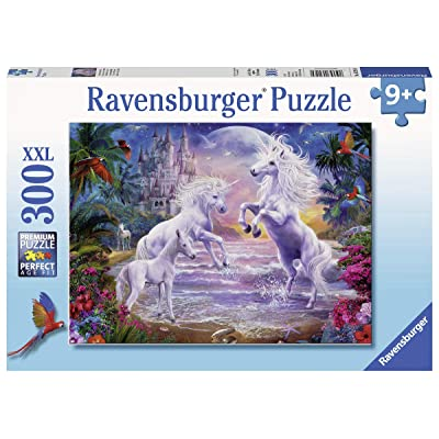 "Ravensburger 13256 Unicorn Paradise, 300 Piece Puzzle for Kids, Every Piece is Unique, Pieces Fit Together Perfectly, Multi, 19.5"" x 14.25"": Toys & Games"