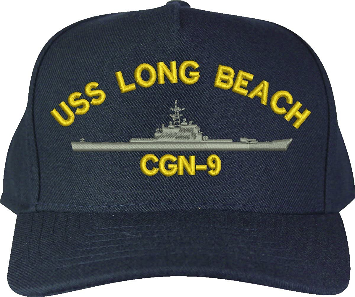Class Guided Missile Cruiser Ship Cap Custom Long Beach CGN