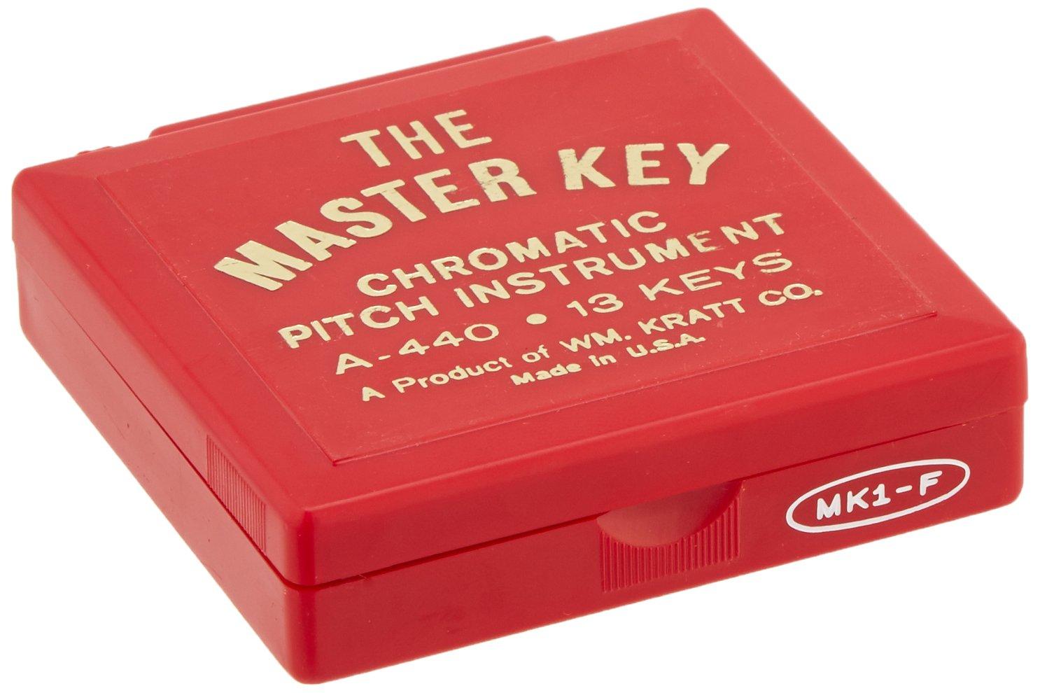 Kratt MK1 Master Key Chromatic Pitch Pipe (F to F) by Kratt (Image #4)