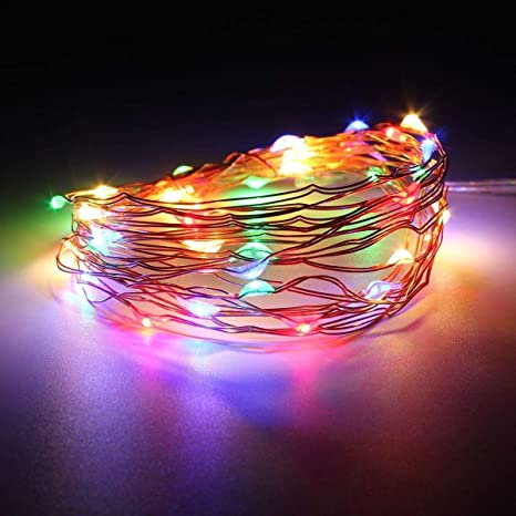 Dripping Colors Multi Color Led String Lights,USB, 3M 30 LEDs,(Multi Color) �