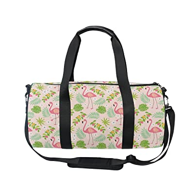 GIOVANIOR Pink Flamingos Luggage Cover Suitcase Protector Carry On Covers