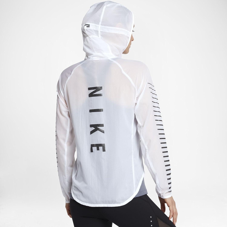 62b37e6221 Amazon.com  NIKE Impossibly Light Women s Running Jacket (White ...