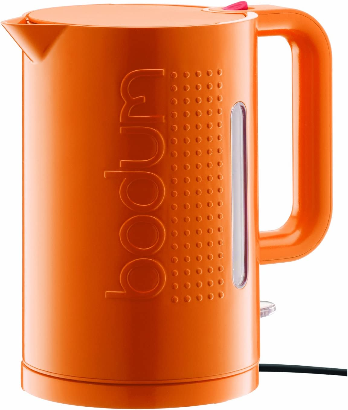 Amazon Com Bodum Bistro Large Electric Water Kettle Orange Kitchen Dining