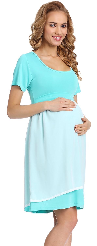 Be Mammy Elegante Vestido de Fiesta Premam/á Ropa Maternidad Mujer 91R3N1