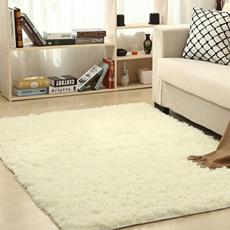 Amazon Com Thee Ultra Soft Shaggy Fluffy Area Rug Home Decor Living