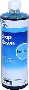 Pool Basics 2440PB-02 Drop Down Liquid Flocculent for Swimming Pools , 1 quart
