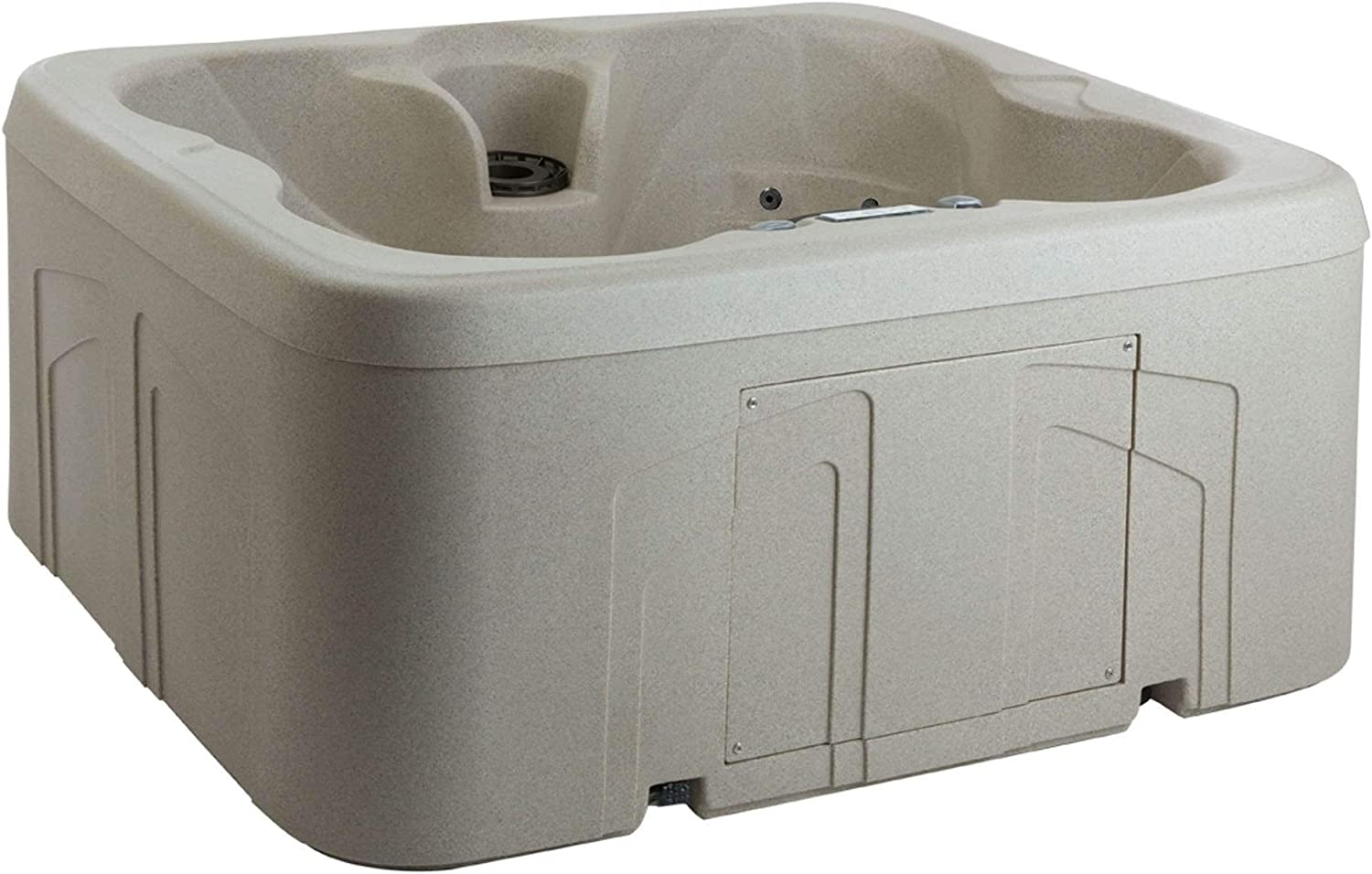 1. LifeSmart Simplicity Rock-Solid Plug and Play Hot Tub