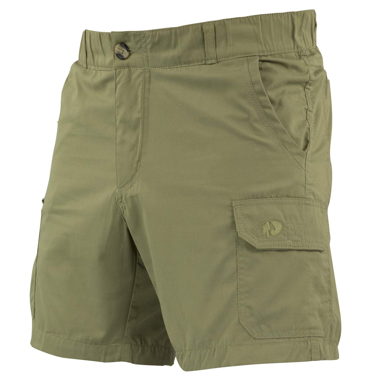 Mossy Oak Men's Quick Dry Hiking Shorts for Outdoor, Fishing, Tactical Use by Mossy Oak