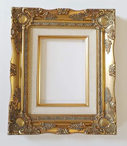 3ce4eb77aa11 Amazon.com - TP Picture Frame Only- Old Gold Ornate
