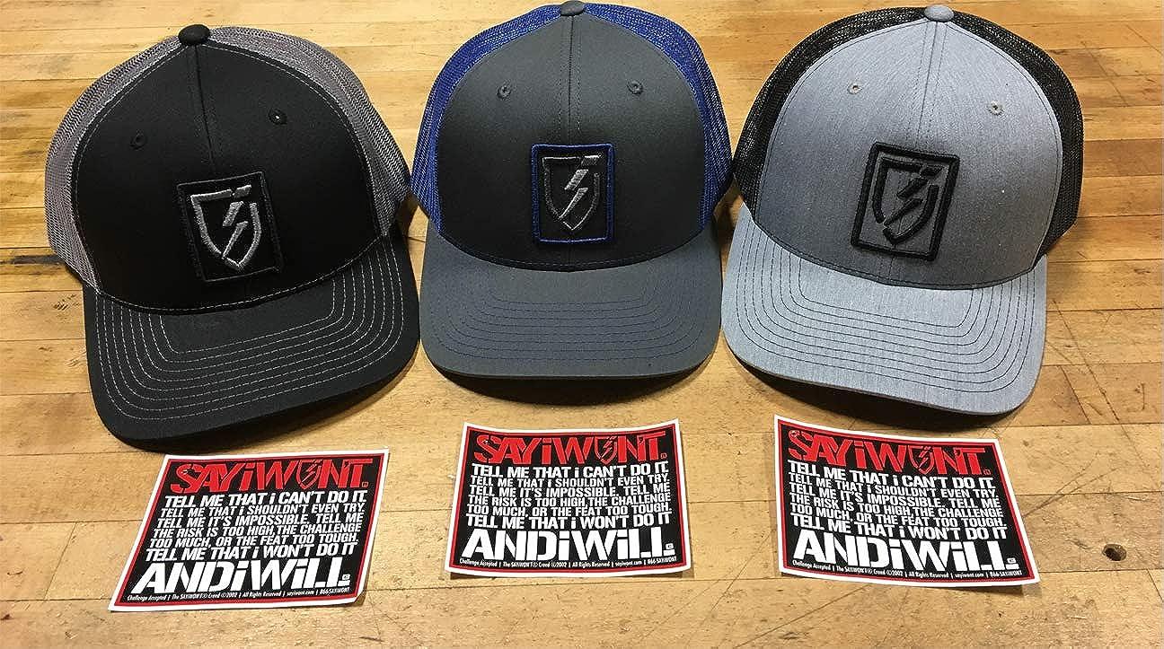 SAYiWON/'T Icon Model Adjustable Snapback Hat