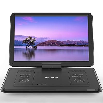 Amazon.com: Reproductor de DVD portátil de 17,5 pulgadas con ...