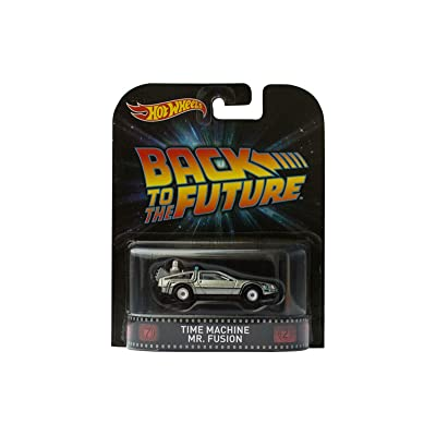"""Time Machine Mr. Fusion """"Back To The Future"""" Hot Wheels 2015 Retro Series 1/64 Die Cast Vehicle: Toys & Games"""