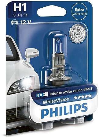 Philips MT-PH 12258WHVB1 Bombillas de Xenón, 3700 K: Amazon.es: Coche y moto