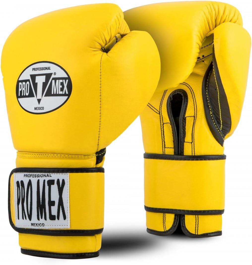 タイトルボクシングPro Mex Professionalトレーニング手袋v2 . 0 イエロー 12 oz