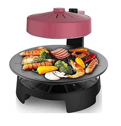 ZXMXY Nuevo BBQ Poke Hot Pot Antiadherente All Powerful Stovetop Grill Barbacoa Máquina sin Humo Horno