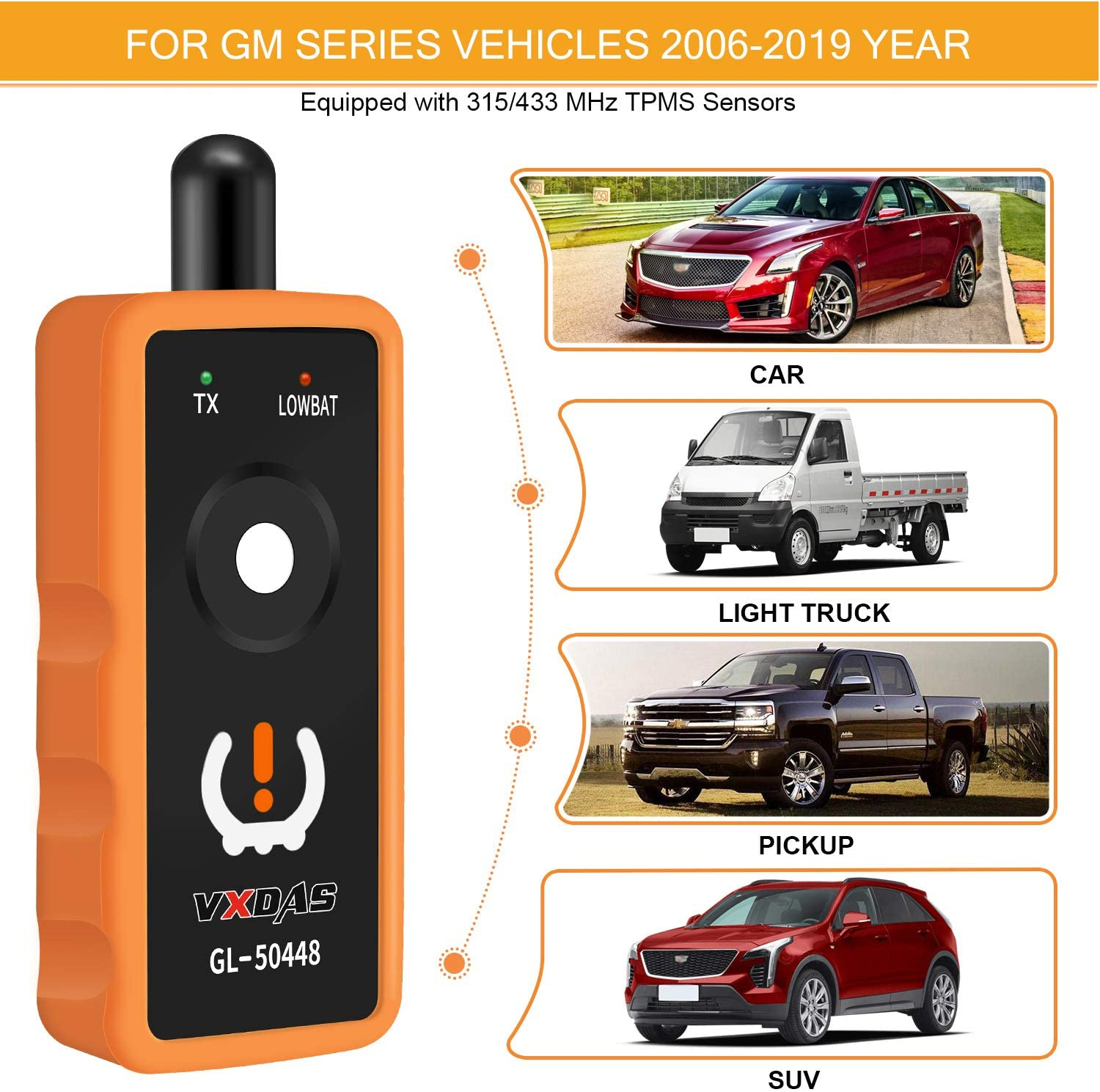 2019 New Fit to Ford TPMS 19 8C2Z-1A203-A Sensor Training Program Tool Ideal