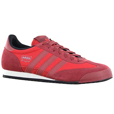 Adidas Original Dragon Red Mens Trainers Size 9.5 UK  Amazon.co.uk  Shoes    Bags f585613c2