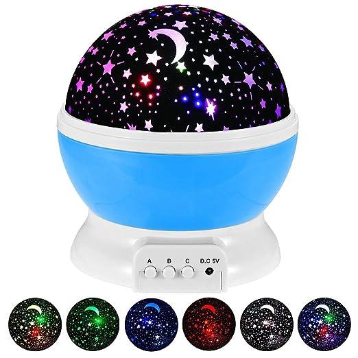 226 opinioni per Lampada Proiettore Stelle Luna Novelty, Giocattolo Palla Magica, Luce di