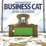 2018 Business Cat Wall Calendar