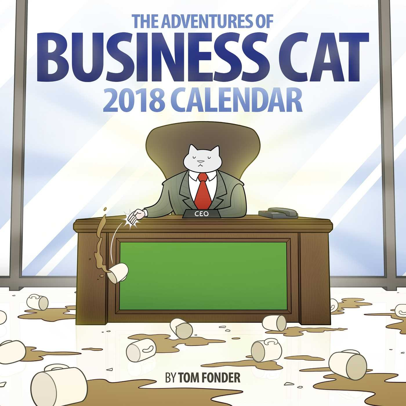 Business Cat 2018 Wall Calendar ePub fb2 ebook