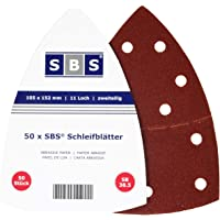 50 Piezas SBS gancho y lazo lija 105x152