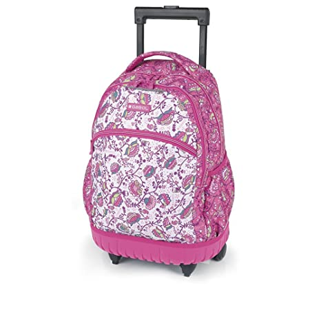 Mochila Trolley Gabol Magic Rosa